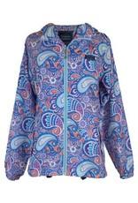 Paisley Rain Zip Jacket/Small