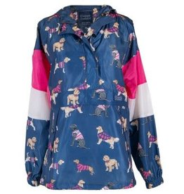 Pullover Dog Rain Jacket/Small