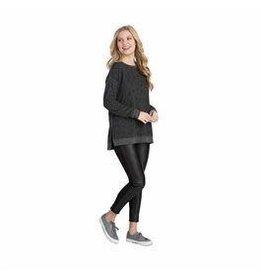 Fanning sweatshirt (Large) Black Leopard