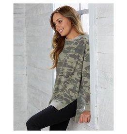 Green Camo sweatshirt/Medium