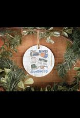 Lexington Ky Ornament Doodles