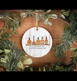 Keep Bourbon Close  Ornament Doodles