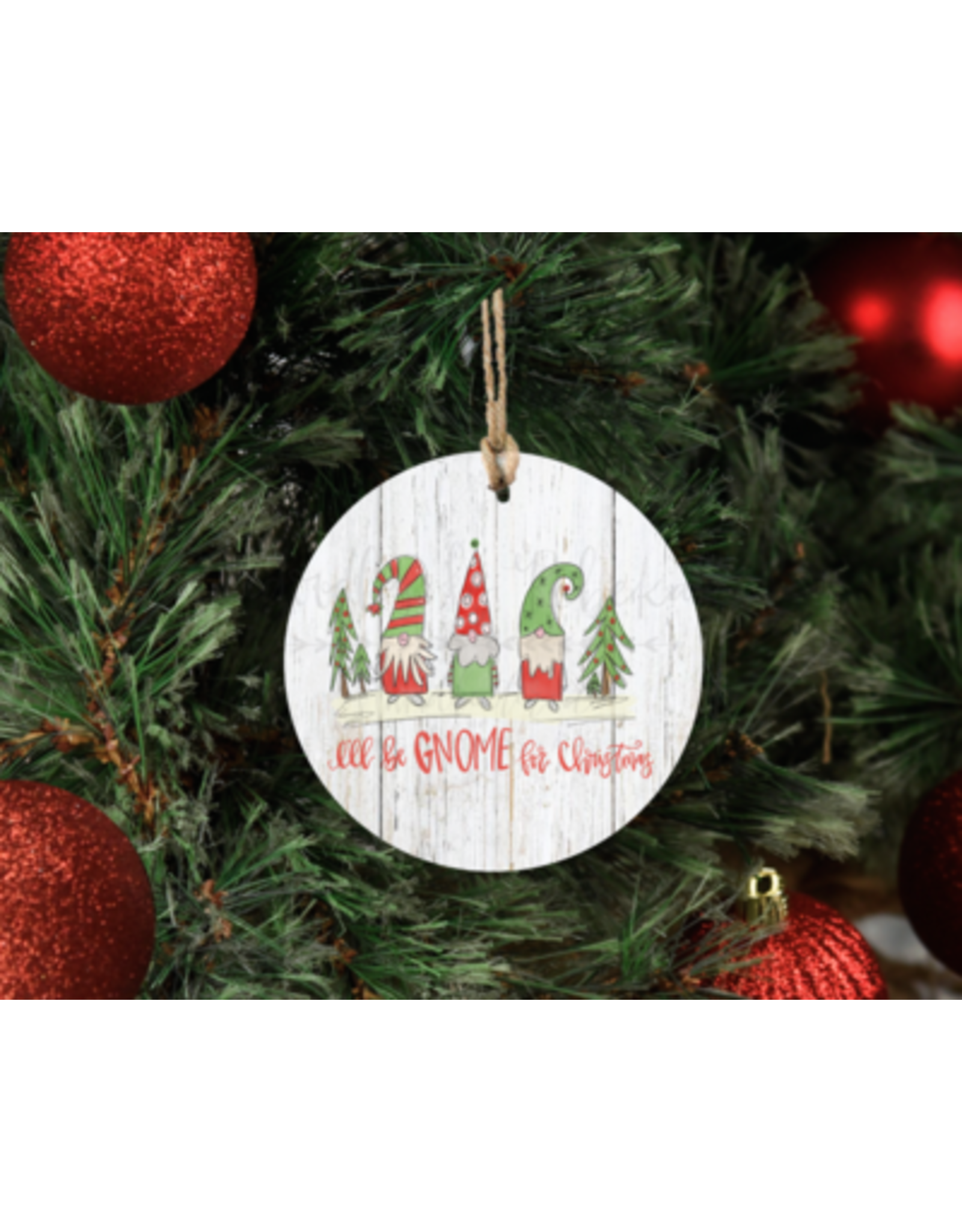 Gnome Christmas Ornament Doodles