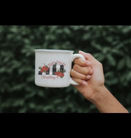 Ky Christmas Plaid Camp Mug