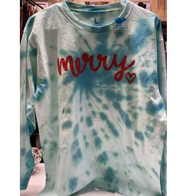 Tie Dye- Merry shirt-Large