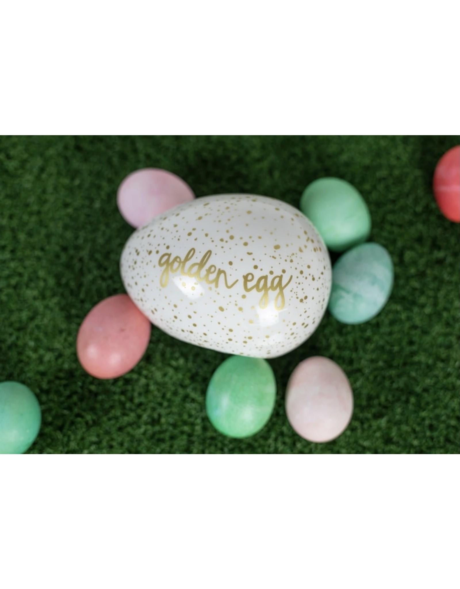 Speckled Golden Egg