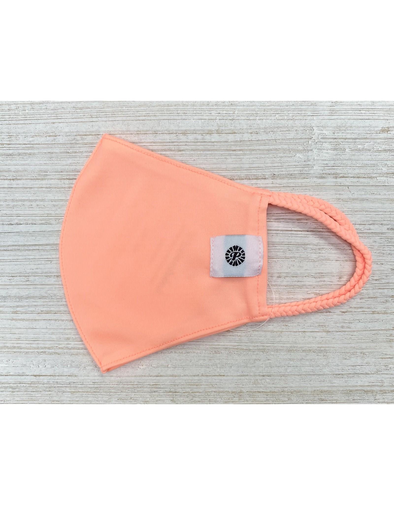 Individual Child Pomchie Mask/Neon Peach