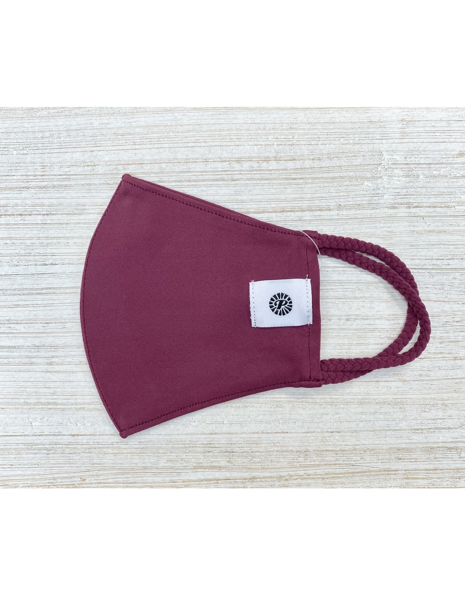 Individual Child Pomchie Mask/ Burgandy