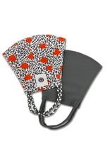 Pomchie Gray Leopard Hearts/Gray Mask