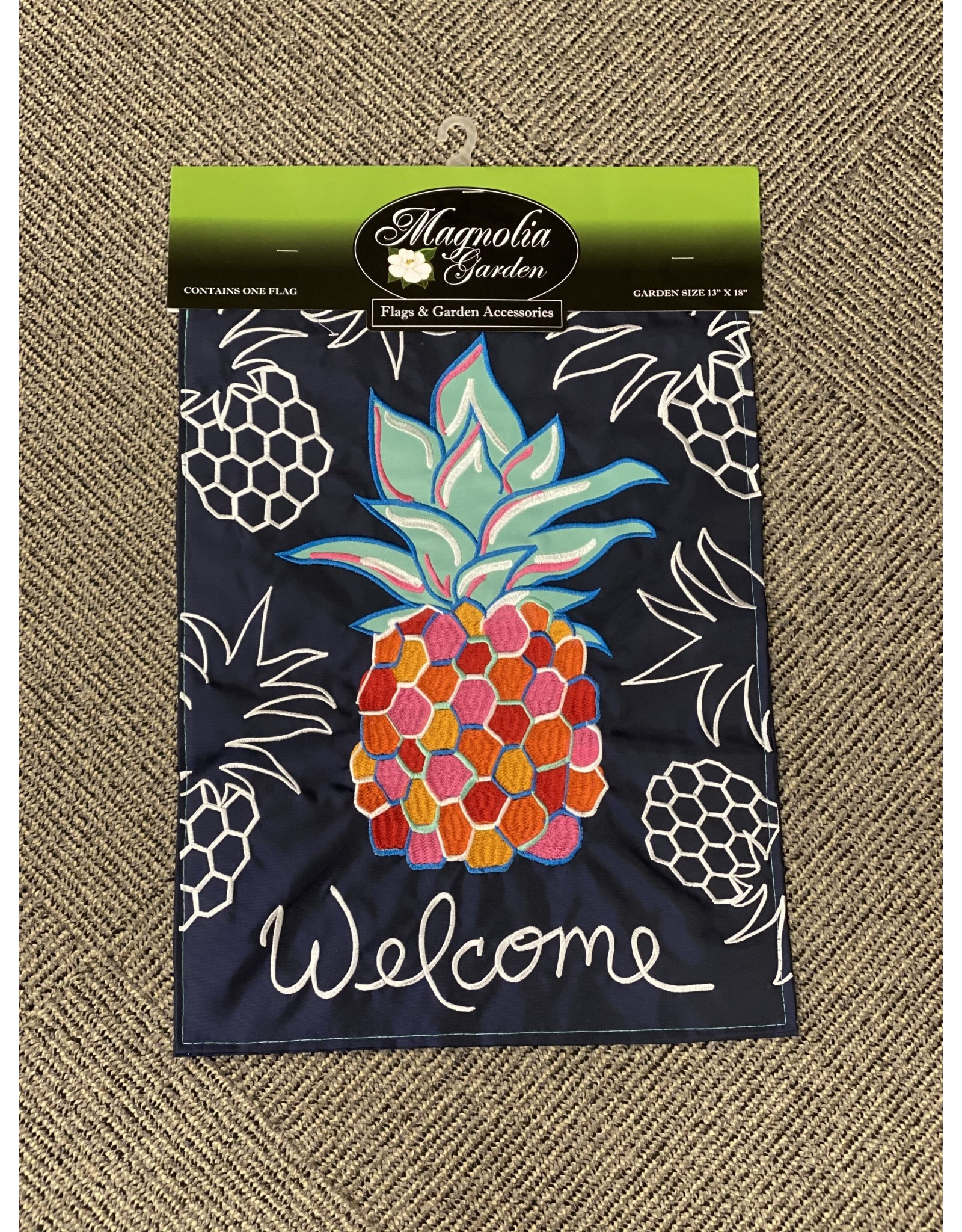 welcome pineapple flag