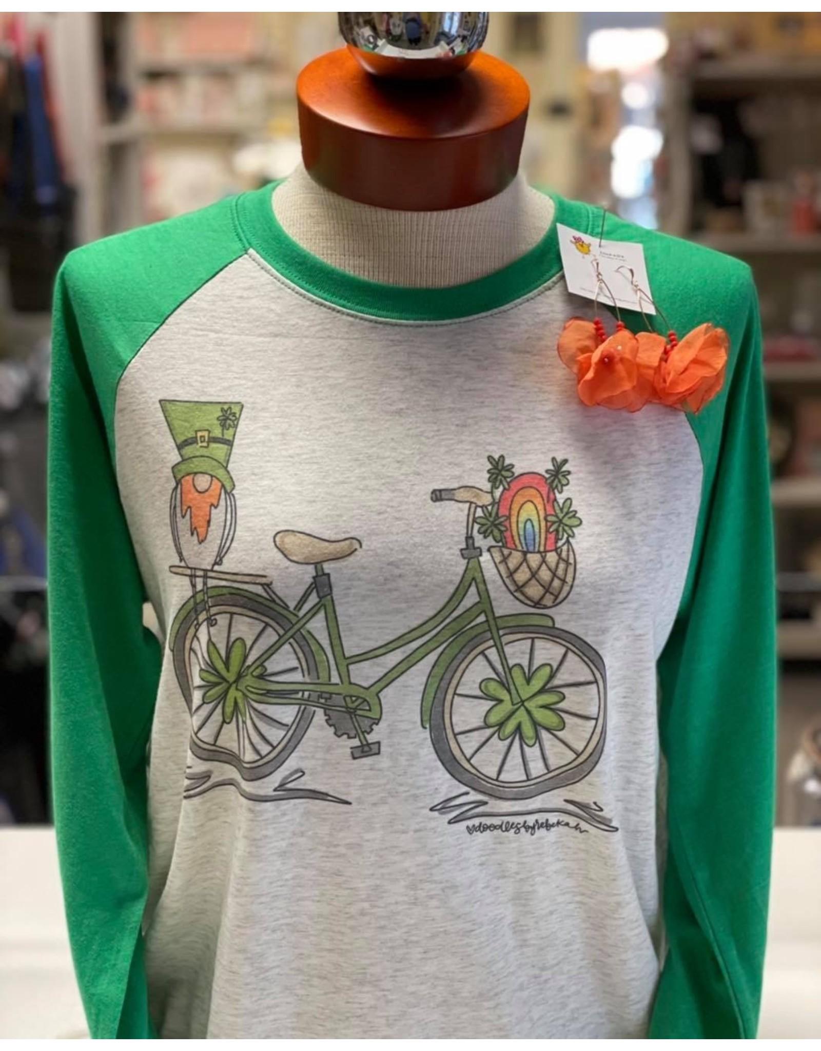 St. Patrick Bike Raglan/XLarge