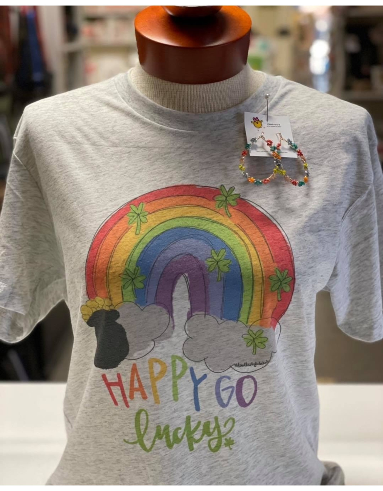Happy Go Lucky T-Shirt/2X Large