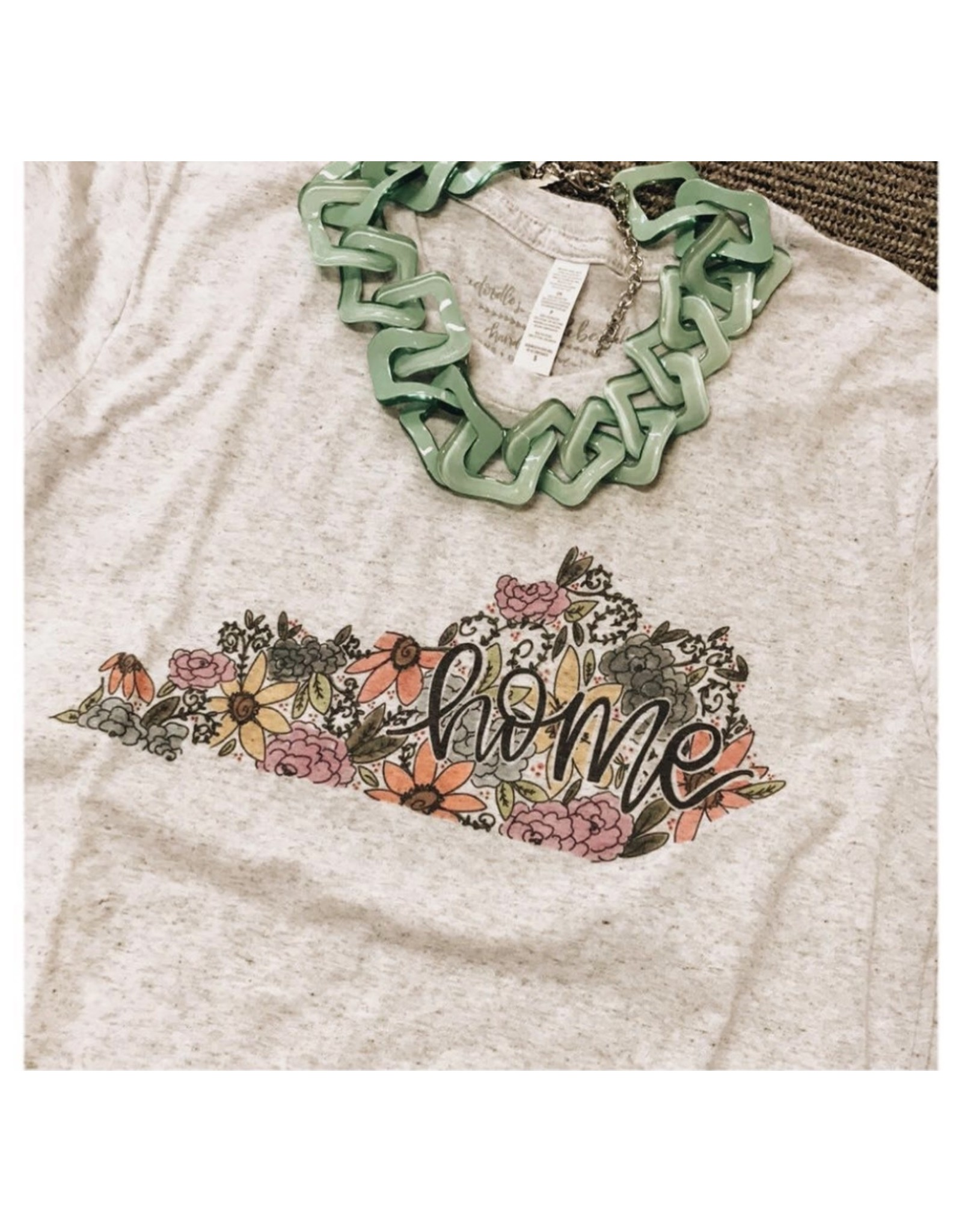 Kentucky Floral short sleeve tee (medium)