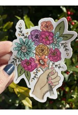 Handful of Flowers Sticker