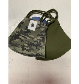Youth Double Camo/Olive Masks