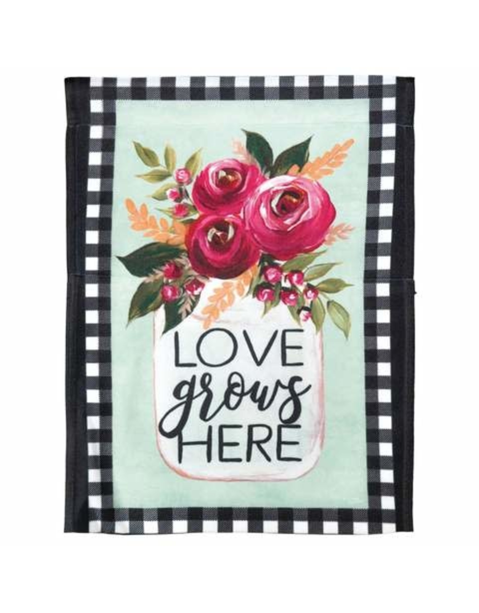Love Grows Here Flag