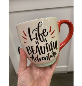 Life is a Beautiful Adventure mug