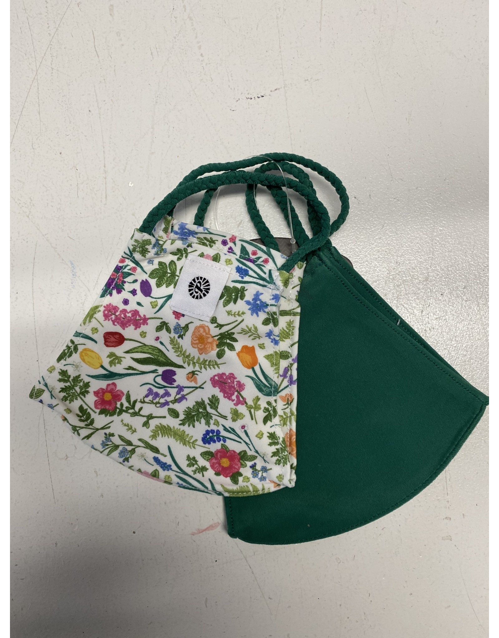 Pomchies Mask - Spring Flowers/Green