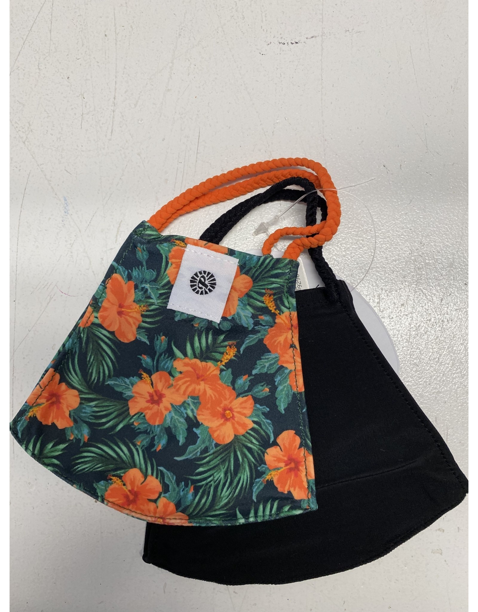 Pomchies Mask - Hibiscus Flower/Black