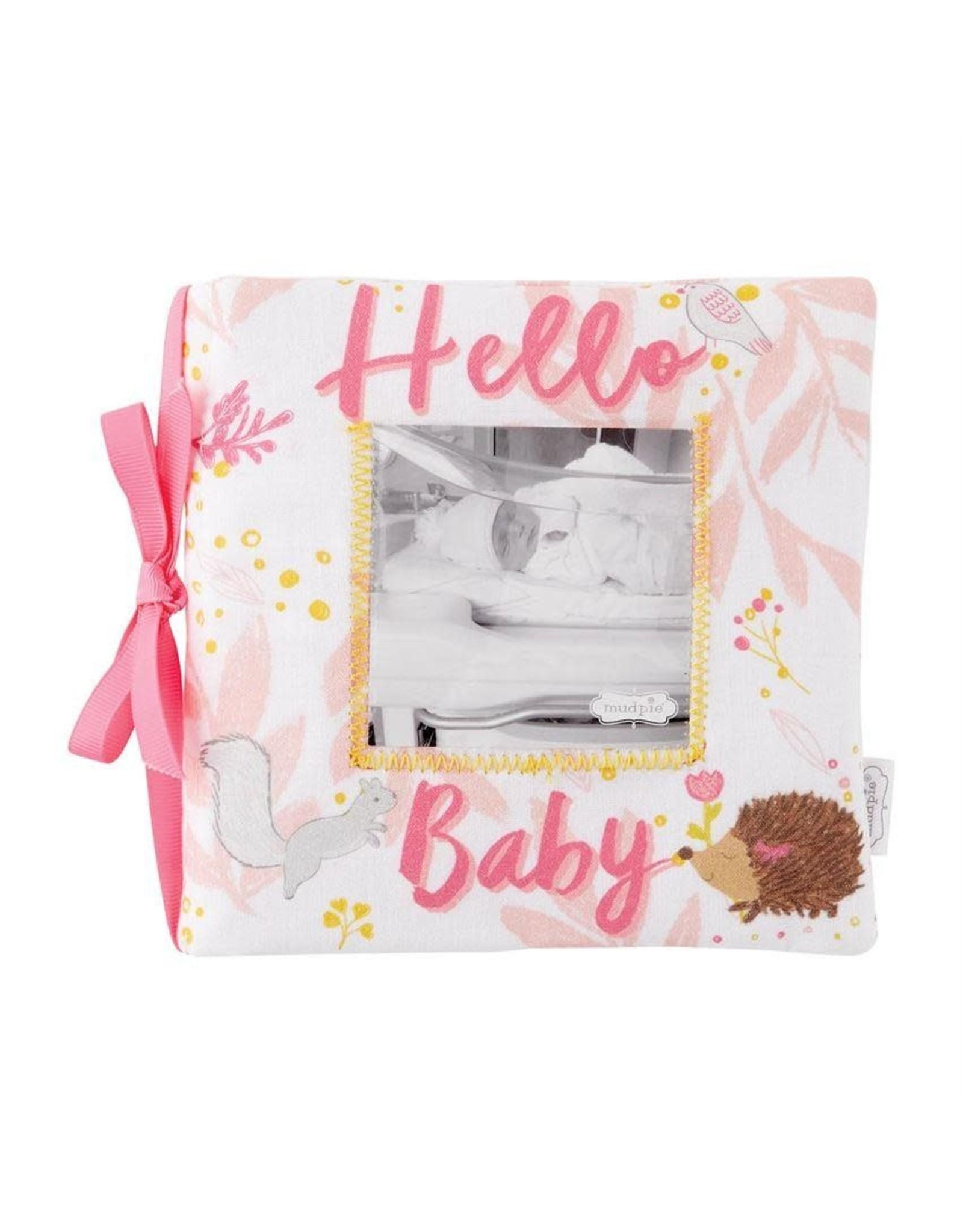Hello Baby Girl Photo Book