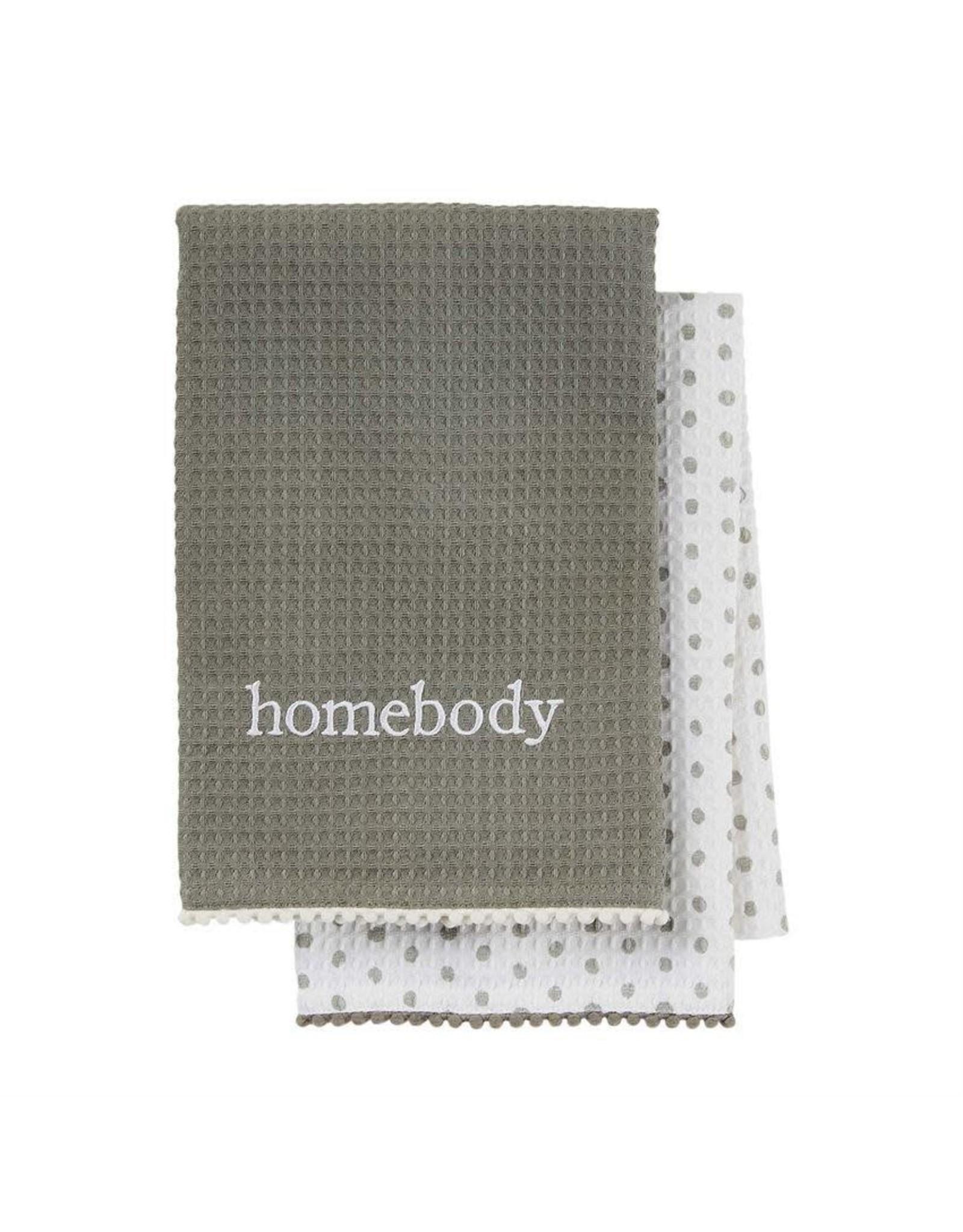 Homebody Waffle towel set
