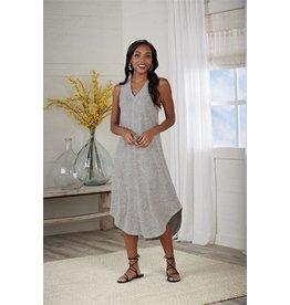 Nash Midi Dress Gray-Lg