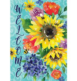 Summer Bouquet Garden Flag