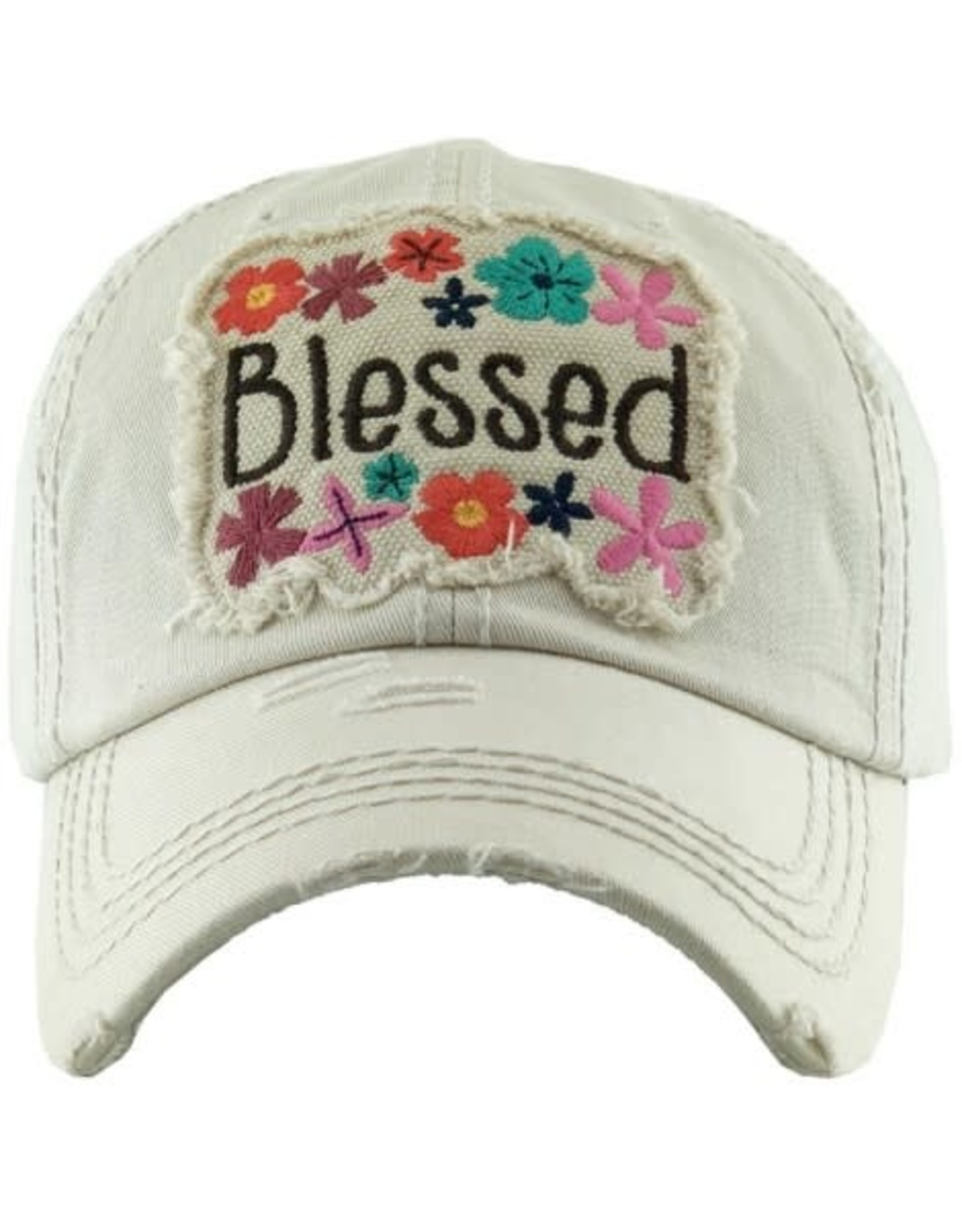 Blessed Cream Floral hat