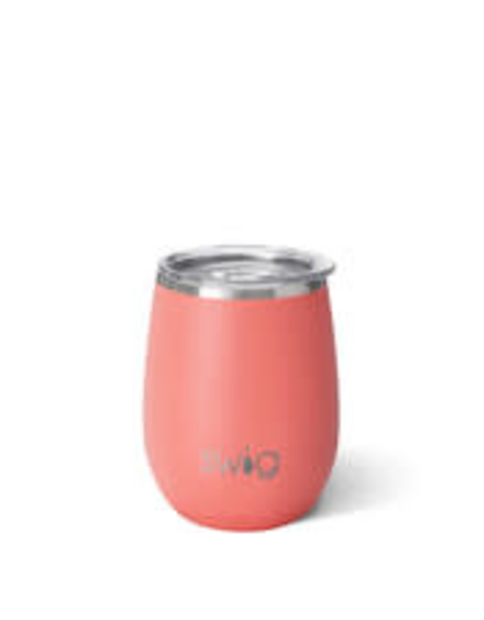 Matte Coral stemless cup