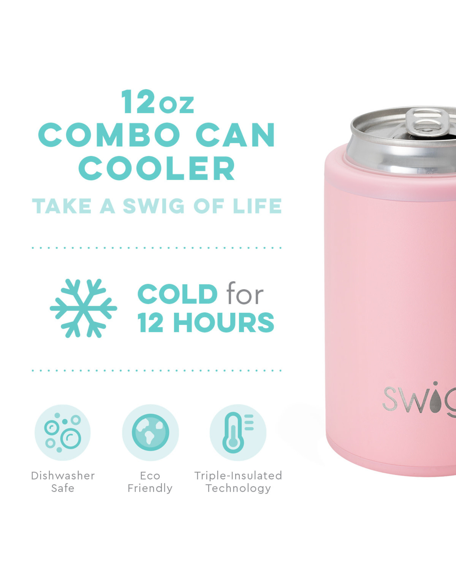 Matte Blush Combo Cooler