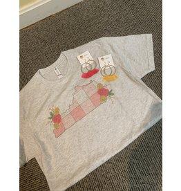 Pink Paid Kentucky Tee Shirt/X Large