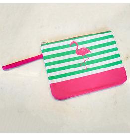 Wet/Dry Bag w/Flamingo