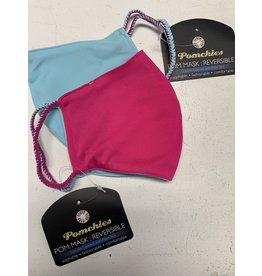 Pomchie Reversible Dragon Fruit/Aqua Mask(Filter Pocket)