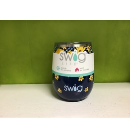 Swig / Lazy Daisy Stemless Cup ( 14 oz )