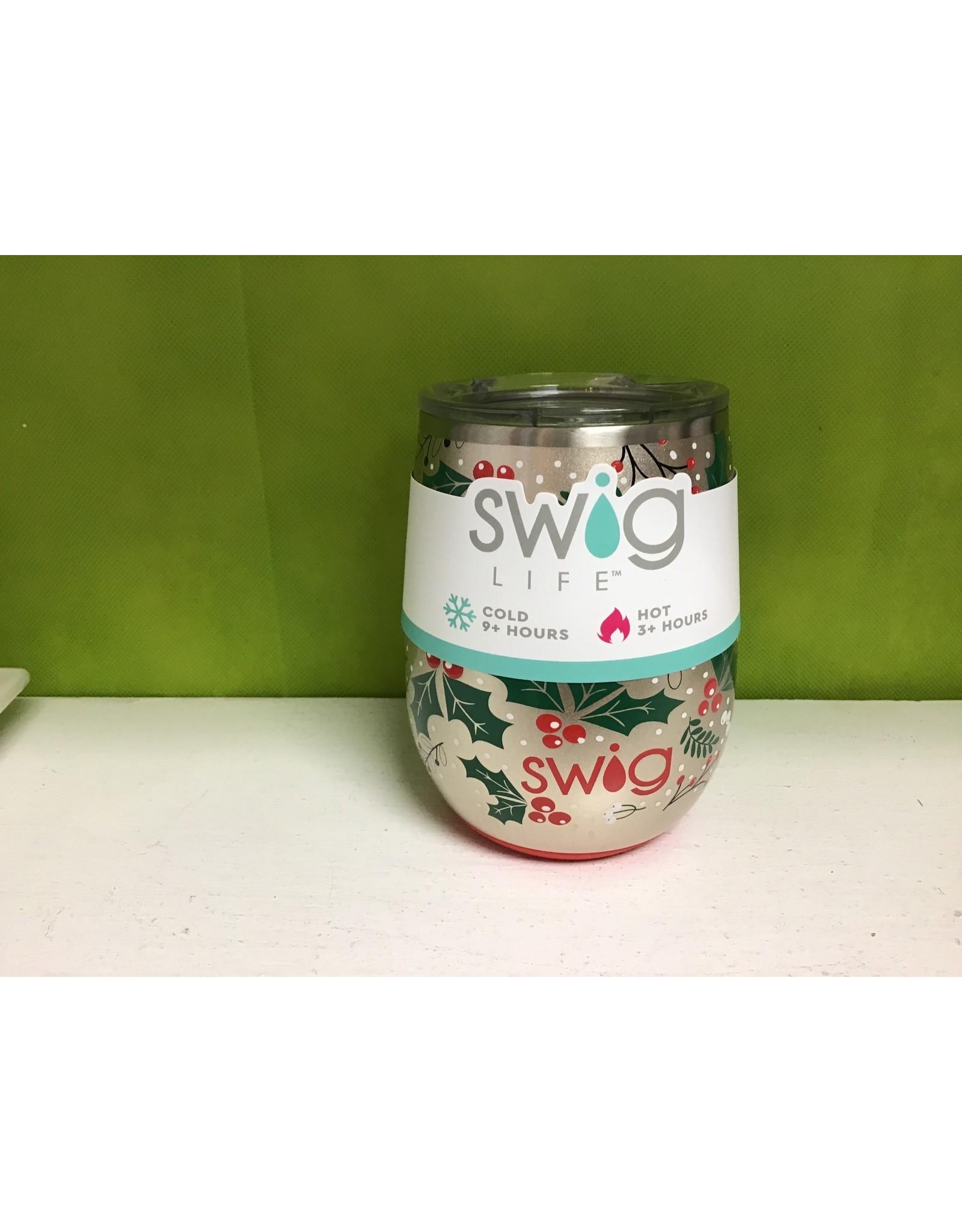 Swig / Hollydays Stemless Cup  (14oz )