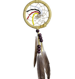 "Dream Catcher 2"" with quartz crystal."