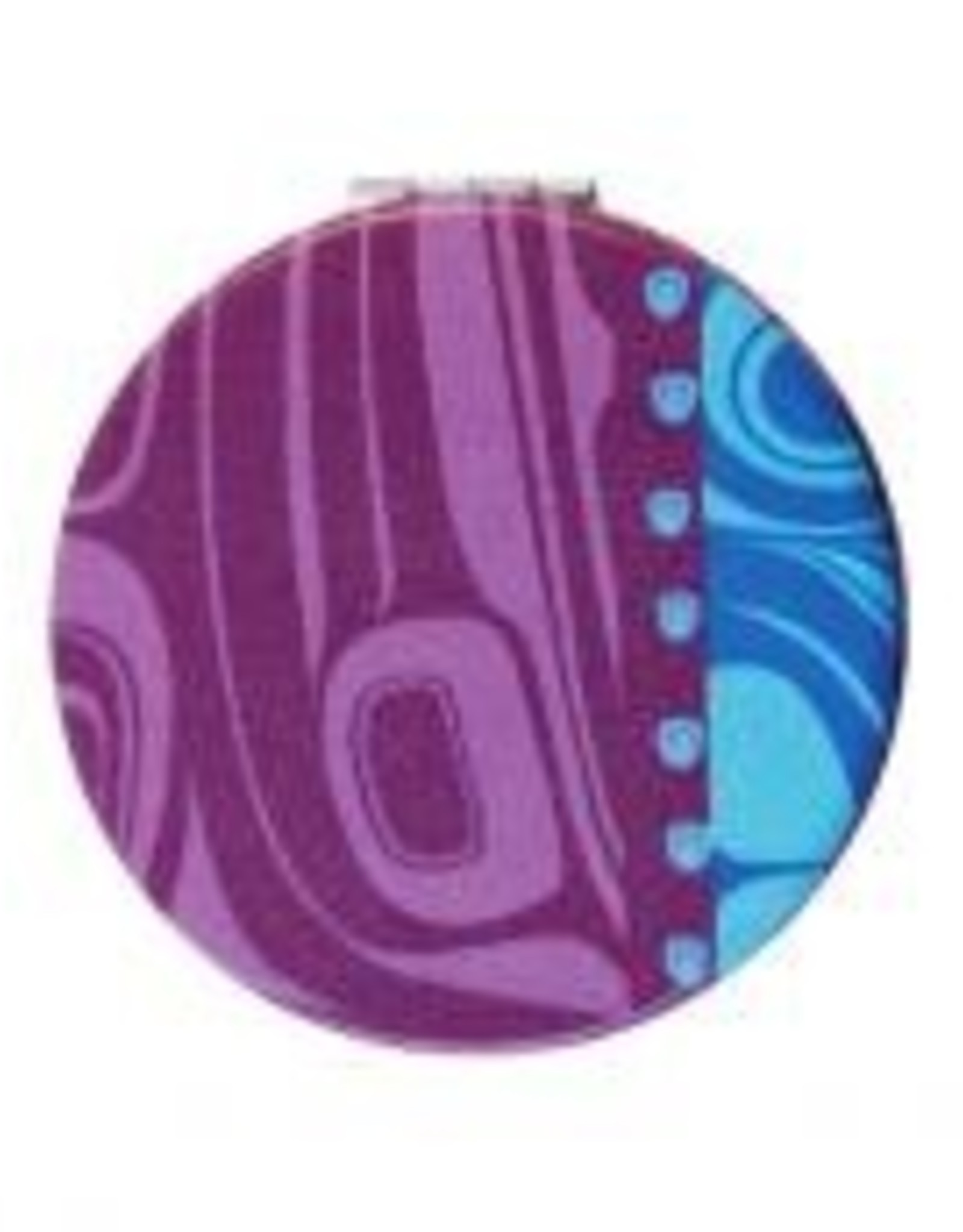 Compact Mirror Raven /Purple - Kelly Robinson