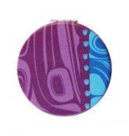 Compact Mirror Raven /Purple - Kelly Robinson