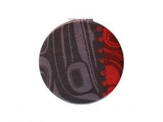 Compact Mirror Raven / Charcoal - Kelly Robinson-1