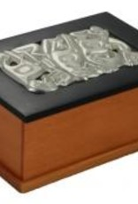 Desk Box with Pewter Inlay - Canadian made