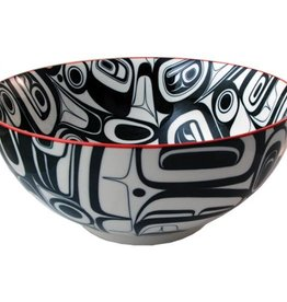 Bowl - Large Ceramic / Raven