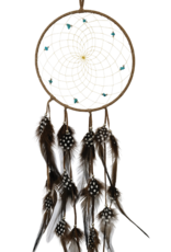 "6"" Dream Catcher w/ Semi precious Stones"
