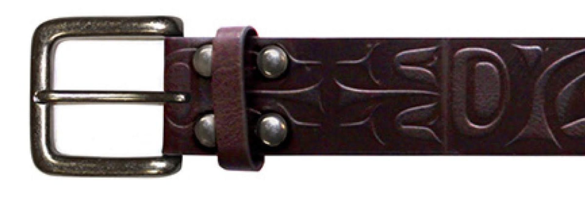 Leather Belt-Mens XXL