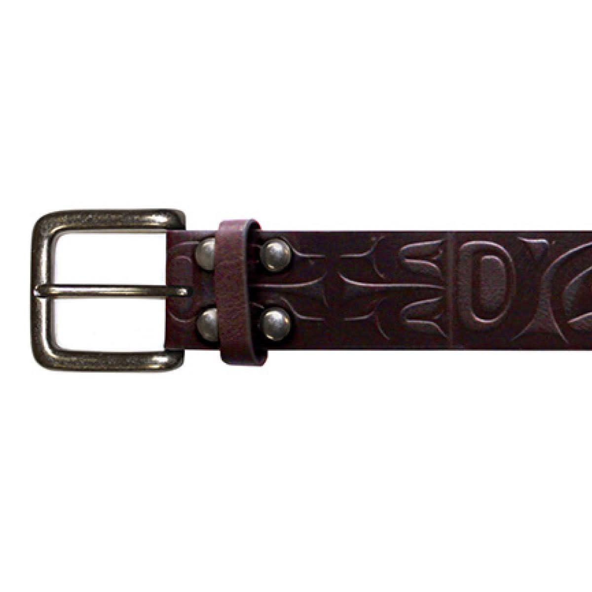 Leather Belt-Mens XXL-1