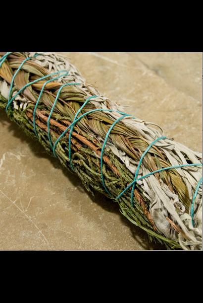 Smudge Stick Sage-Juniper-Sweetgrass
