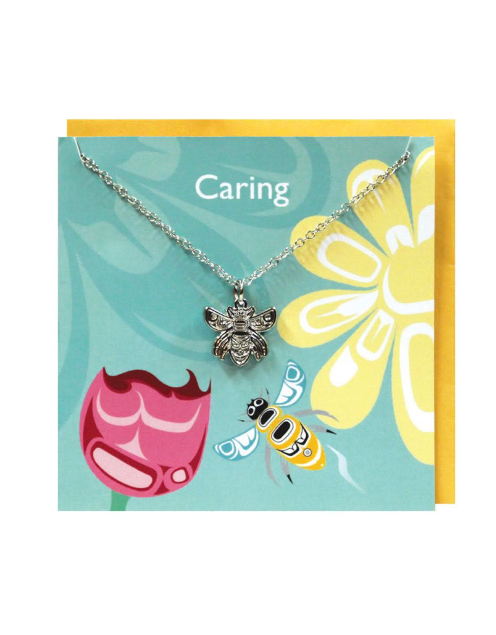 Pewter Charm Greeting Card