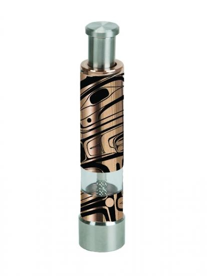 Copper & Stainless Steel Salt/ Pepper Pump-Bear by Marcel Russ-1