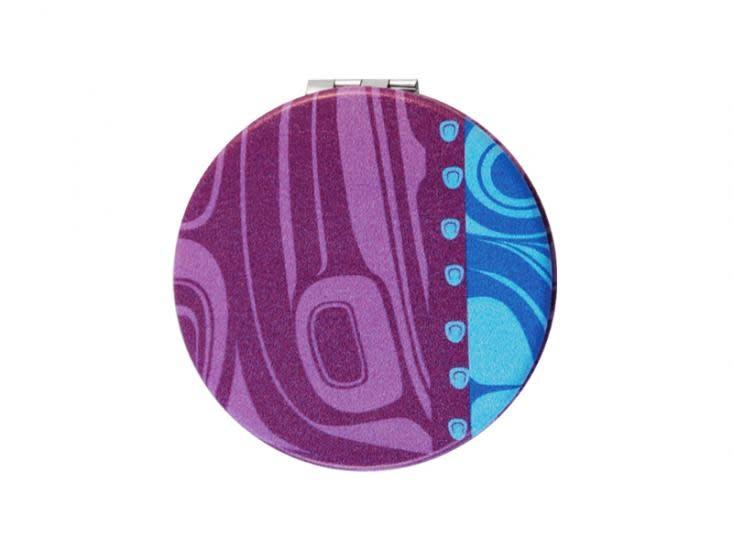 Compact Mirror Raven /Purple - Kelly Robinson-2