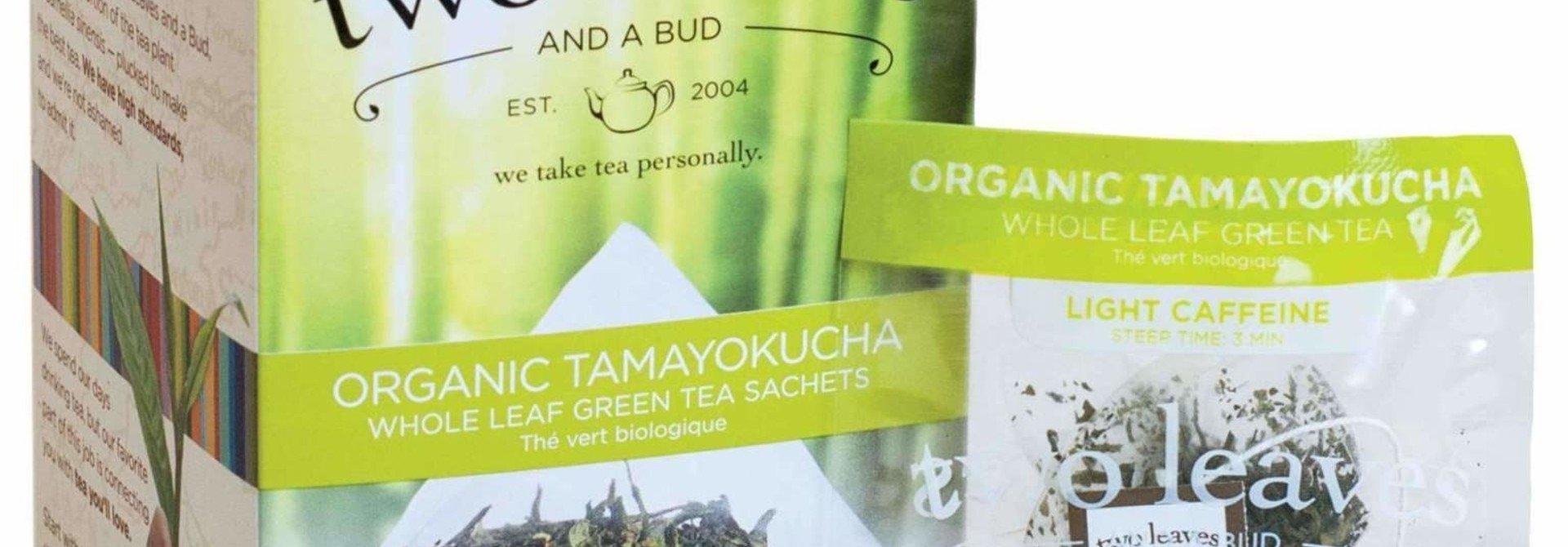 Two Leaves and a bud-Organic Tamayokucha Whole leaf green tea sachets