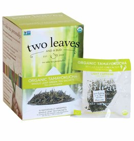 Two Leaves and a bud-Organic Tamayokucha Whole leaf green tea sachets